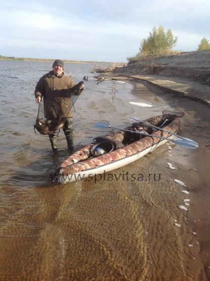 Байдарка ПВХ для рыбалки