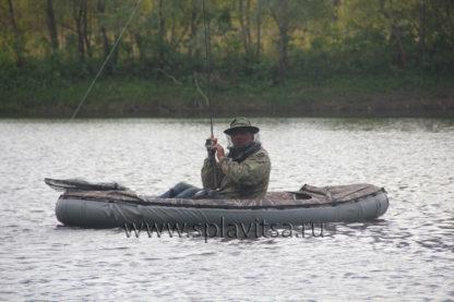 Байдарка для ловли на спининнг на лесных озерах