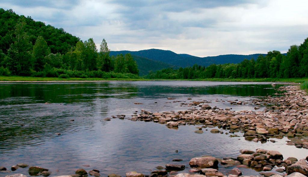 Сплав на байдарке Ладья по реке Инзер