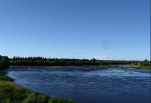 Пороги на реке Онега